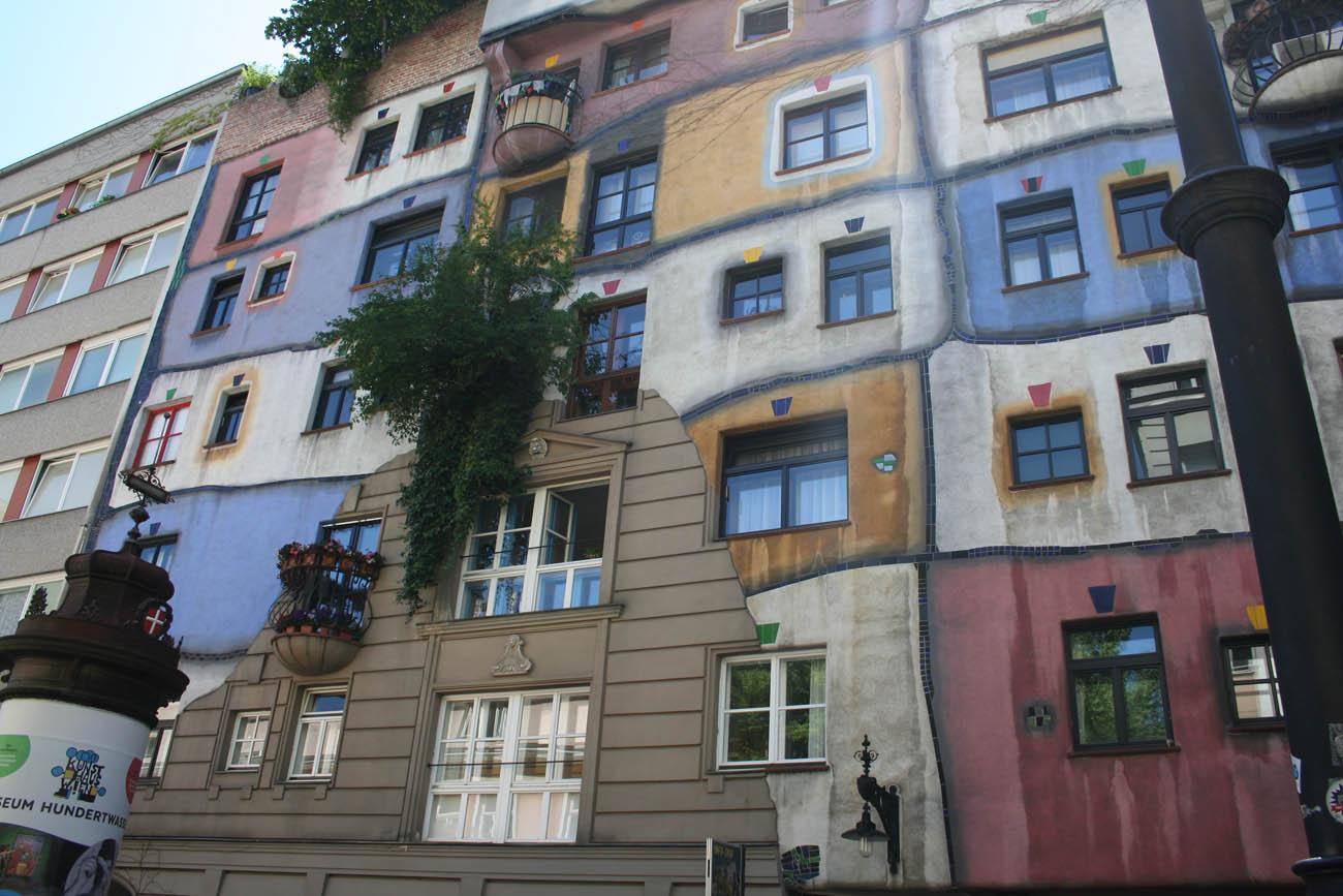 Hundertwasserhaus - Vídeň