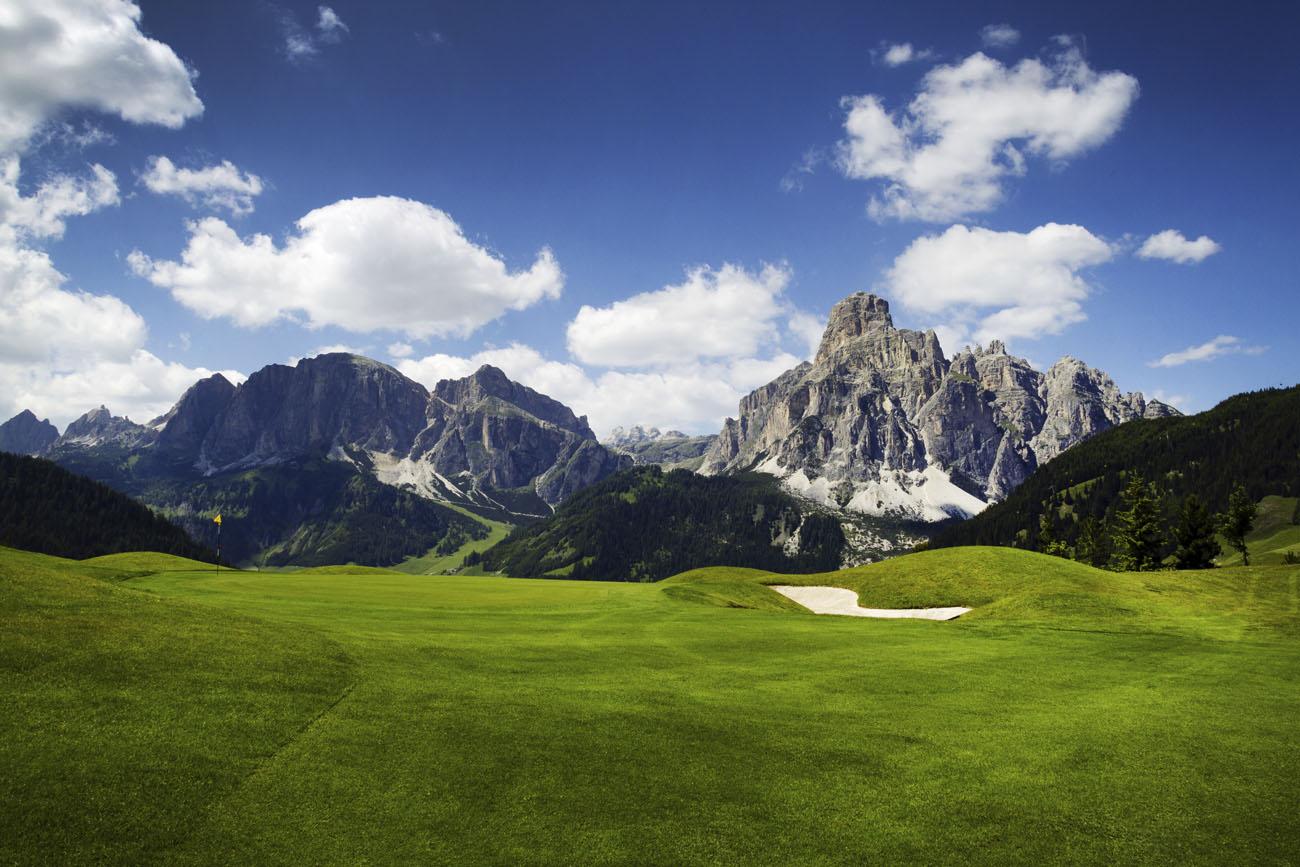 Golf v Alpách