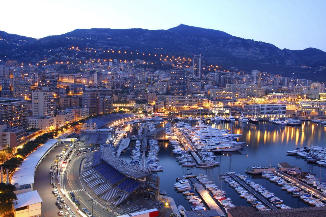 Návštěva Monaka